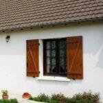 Fensterläden als Sichtschutz