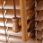 Innenjalousien in Holzoptik