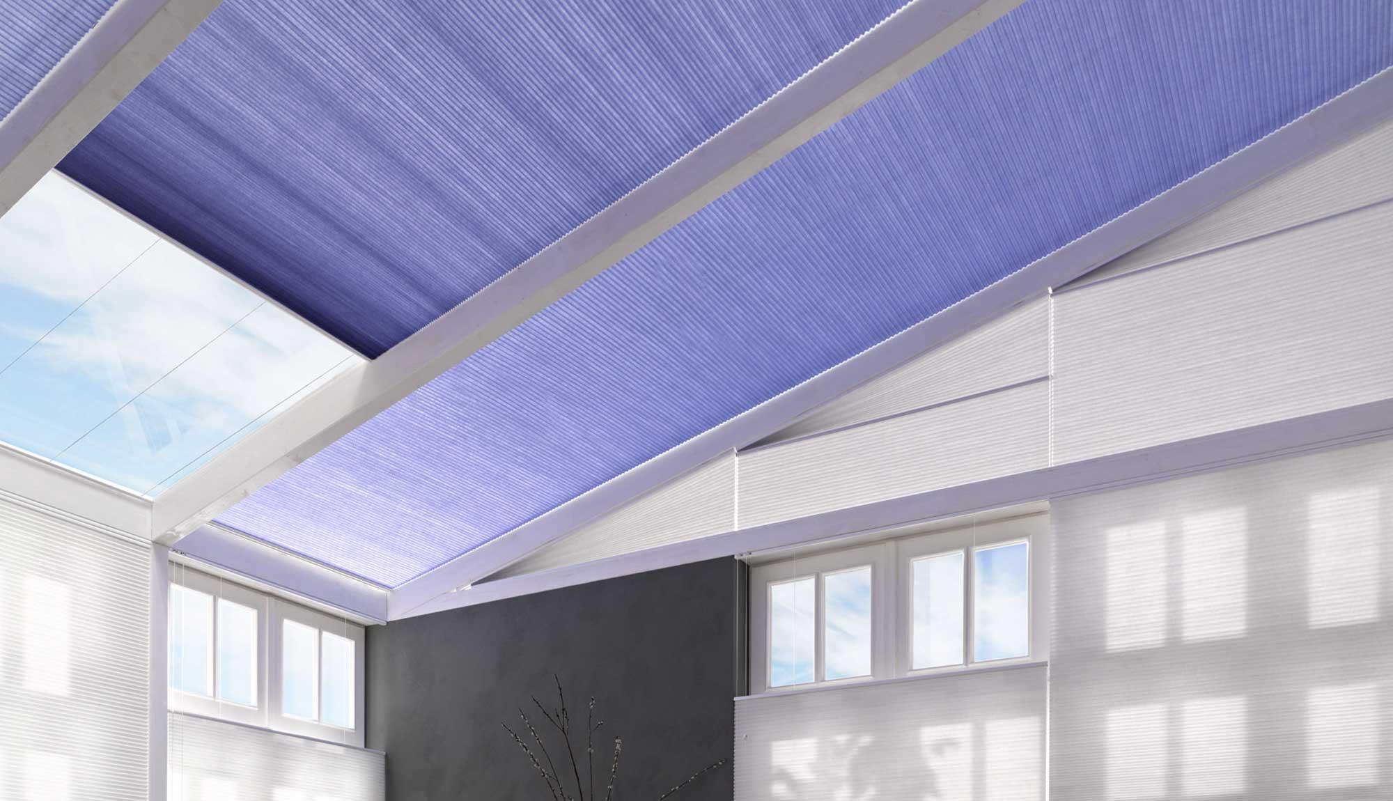 Plissee Plafond