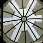 Rundverschattung für Glasdächer